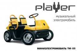 Миниэлектромобиль «Player» (TM-05)